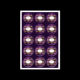 01 - Qtde: 1 à 50 Unid. FOLHA 330X480MM COM CORTE ESPECIAL/VINIL TRANSPARENTE Adesivo vinil transparente Tam. da arte: 330x480 - Tam. final: 315x465 4x0