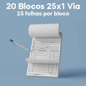 02 -  QTDE: 20UNID. / BLOCOS E TALOES/25 FOLHAS/AP 75G/25X1/150X210MM Ap 75g Tam. da arte: 150x210 - Tam. final: 147x207 1x0 20bl - 1x50fls, Blocar bloco 20 unid Corte Reto Qtde: 20Unid. blocos 50x1 via