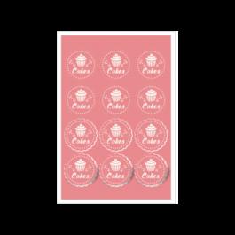 02 - Qtde: 51 à 100 Unid. FOLHA 330X480MM COM CORTE ESPECIAL/VINIL BRANCO Adesivo vinil branco Tam. da arte: 330x480 - Tam. final: 315x465 4x0