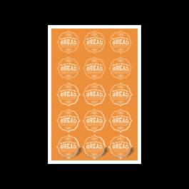 02 - Qtde: 51 à 100 Unid. FOLHA 330X480MM COM CORTE ESPECIAL/VINIL TRANSPARENTE Adesivo vinil transparente Tam. da arte: 330x480 - Tam. final: 315x465 4x0