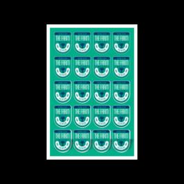 03 - Qtde: 101 à 150 Unid. FOLHA 330X480MM COM CORTE ESPECIAL/VINIL TRANSPARENTE Adesivo vinil transparente Tam. da arte: 330x480 - Tam. final: 315x465 4x0