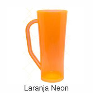 03 - Qtde: 200 Unid. COPO LONG DRINK COM ALÇA / NEON / IMPRESSAO 4 COR / LARANJA  Tam. da arte: 60x120 - Tam. final: 60x120 4x0 Sem verniz  BRINDE