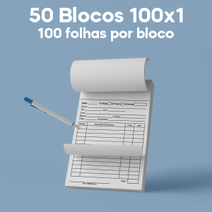 03 -  QTDE: 50 UNID. / BLOCOS E TALOES/100 FOLHAS/AP 56G/100X1/150X210MM Apergaminhado 56g Tam. da arte: 150x210  - Tam. final: 147x207 1x0 50bl - 1x100fls, Blocar bloco 100 unid Corte Reto Qtde: 50Unid. blocos 100x1 via