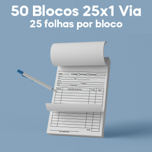 03 -  QTDE: 50UNID. / BLOCOS E TALOES/25 FOLHAS/AP 56G/25X1/150X105MM Ap 56g Tam. da arte: 150x105 - Tam. final: 147x102 1x0 50bl - 1x50fls, Blocar bloco 50 unid Corte Reto Qtde: 50Unid. blocos 50x1 via