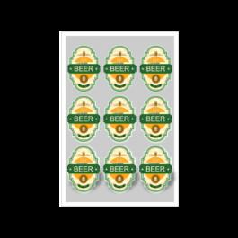 04 - Qtde: 151 à 200 Unid. FOLHA 330X480MM COM CORTE ESPECIAL/VINIL TRANSPARENTE Adesivo vinil transparente Tam. da arte: 330x480 - Tam. final: 315x465 4x0