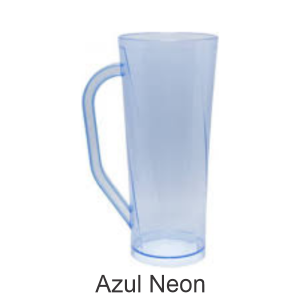 04 - Qtde: 400 Unid. COPO LONG DRINK COM ALÇA / IMPRESSAO 4 COR / AZUL  Tam. da arte: 60x120 - Tam. final: 60x120 4x0 Sem verniz  BRINDE