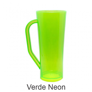 04 - Qtde: 400 Unid. COPO LONG DRINK COM ALÇA / NEON / IMPRESSAO 4 COR / VERDE  Tam. da arte: 60x120 - Tam. final: 60x120 4x0 Sem verniz  BRINDE